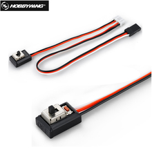 1Pcs Hobbywing Switch With Button for 1 10 Rc Car ESC For Hobbywing EZRUN QUICRUN Esc