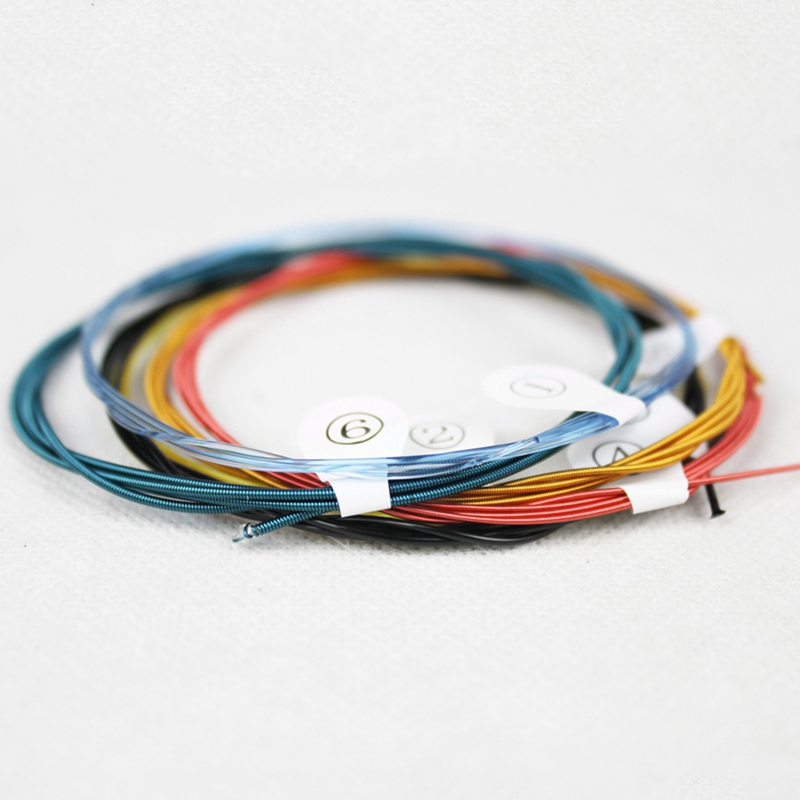 Ziko Dpa-028C Professional Classical Guitar Strings 0285-044 Colorful Nylon Coated C Wound 5