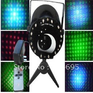 stage light kinds of patterns remote control voice control automatic function KTV stage light