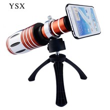 Fish eye 50X Zoom Telescope Lens Telephoto lenses with Tripod For iphone 5 SE 5s 6 6S plus Samsung S3 S4 S5 S6 edge note 3 4 5