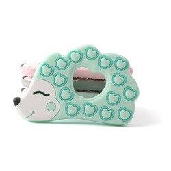 Bopoobo 1 шт. силиконовый аксессуар силиконовый милый Ежик аксессуары для кормления пищевые игрушки для детей Детские трофеи