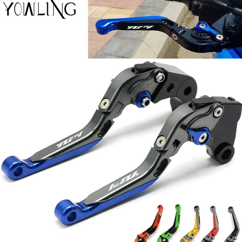 For YAMAHA YZF-R1 YZF R1 YZFR1 2004 2005 2006 2007 2008 Motorcycle Folding Extendable Adjustable CNC Brakes Clutch Levers arashi r1 new throttle cable for yamaha yzf r1 04 06 2004 2005 2006 stainless rubber cables wire line r1 motorcycle accessories