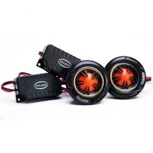 ZYHW Brand Car Dome Tweeter universal Modified car speaker tweeter black 2pcs 90db/w Auto Audio Speakers QP143