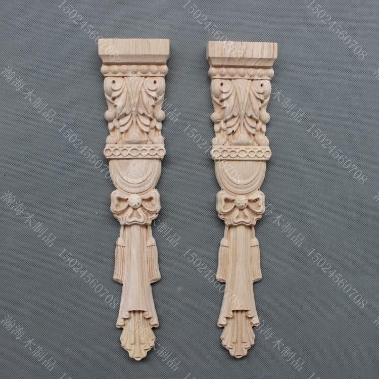 Dongyang řezbářství módní nábytek římský sloup dekorace vyřezávané sloupec masivní dřevo krb skříň květ
