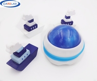 High Qulity Blue Massage Roller Body Massager Health Care Essential Oil Relaxation Slimming Fat Control Roller