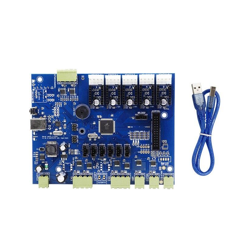 Replicator G Puissant Conseil avec IC Atmega1280-16au/Atmega2560-16au + Câble pour Makerbot 3D Imprimante SL @ 88