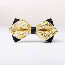 1PC Men's Silk Ties Adjustable Tuxedo Wedding Bow Ties Classic Novelty Party Shiny Satin Necktie Party Tuxedo Men Gift