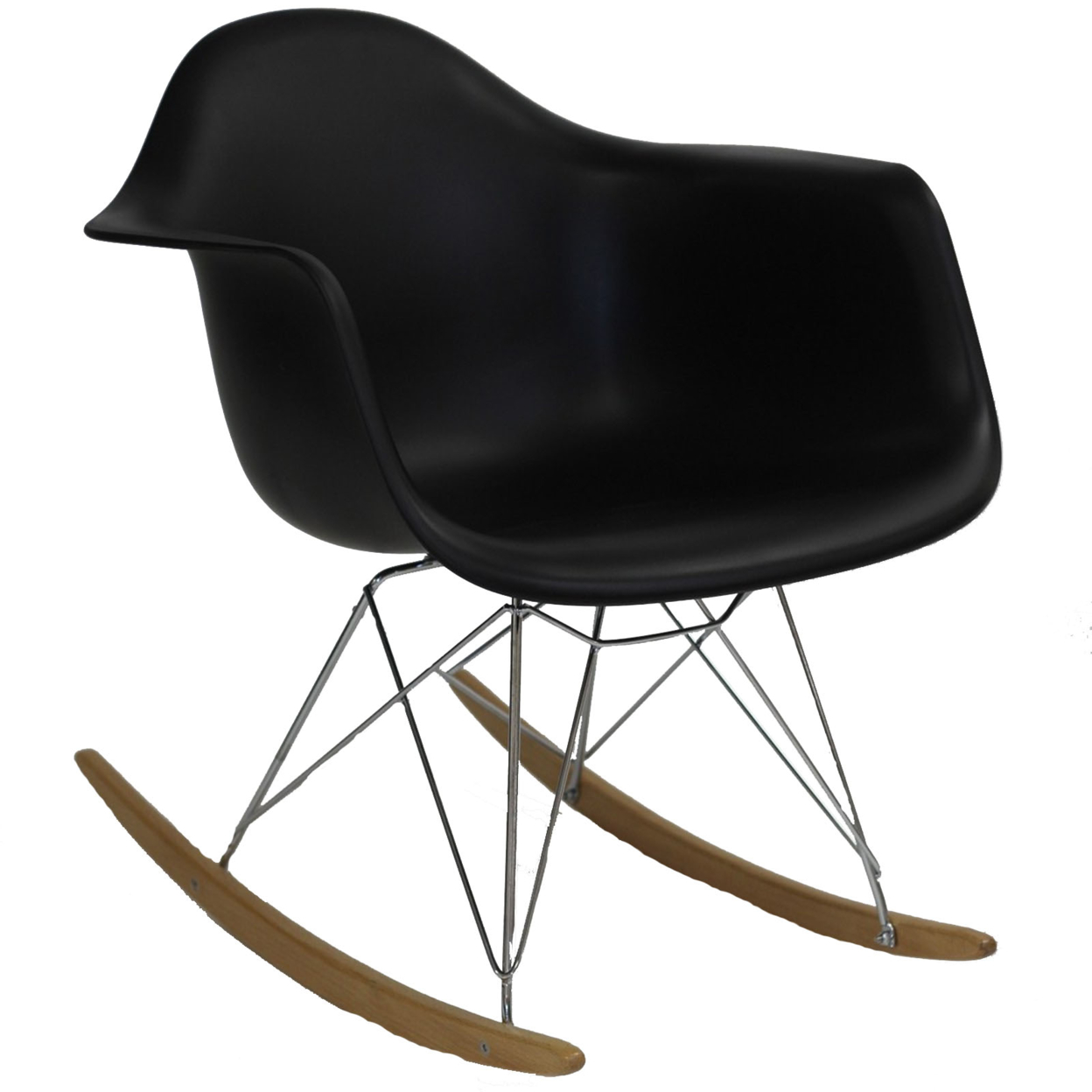 Rocker Lounge Chair Black