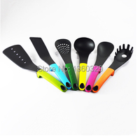 Hot Sale Silicone Cooking Utensils Silicone Spoon Ladle Colander Turner 5 Pcs Cooking Tools Sets As