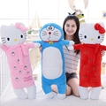 1pc 85cm Big Size Lovely Hello Kitty and Doraemon Plush Pillows Stuffed Soft Cartoon Figure Toys Dolls Bed Cushion Sofa Cushion