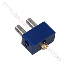 Новый, синий Высокого класса Все Металлические Циклоп Heatbreaks Нагревательный Блок Насадка для 1.75 мм Циклоп 2 В 1 Из Радиатора использовать