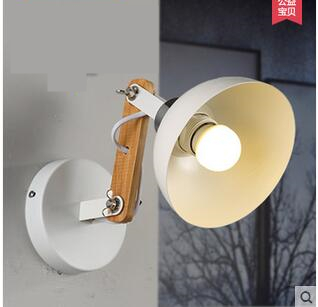 Free shipping WD020 Modern North European style simple elegant metal frame wall lamp lighting