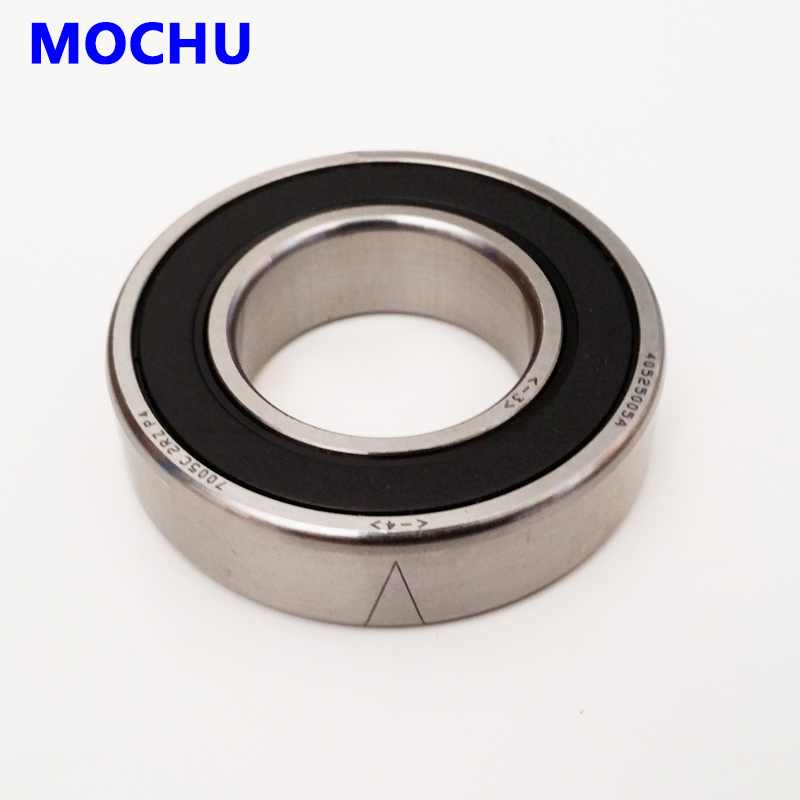 1pcs 7003 7003C 2RZ P4 17x35x10 MOCHU Sealed Angular Contact Bearings Speed Spindle Bearings CNC ABEC-7 1 pair mochu 7005 7005c 2rz p4 dt 25x47x12 25x47x24 sealed angular contact bearings speed spindle bearings cnc abec 7