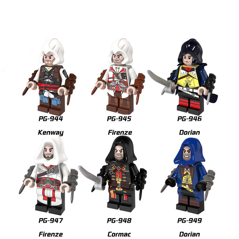 Can-Pick-Up Florence Legoings Pinnacle Creed-Series Assassin's 8-Kenwei The-Pieces Dorians
