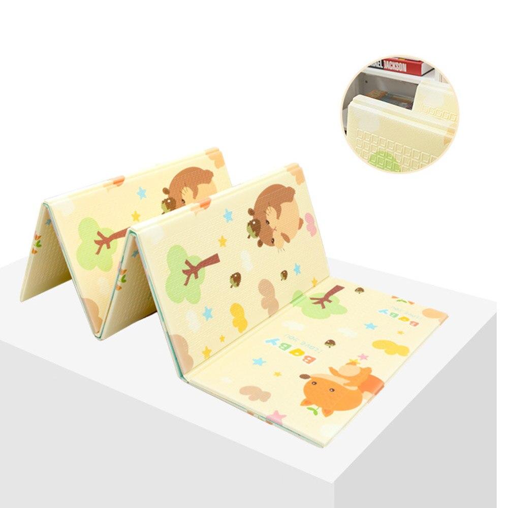 Portable pliable bébé escalade Pad bébé jouer tapis mousse Pad XPE environnement insipide salon jeu couverture