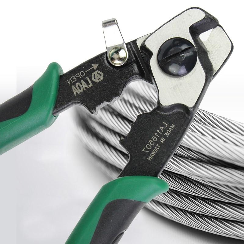 LAOA 7-calowe nożyce do cięcia lin stalowych Wielofunkcyjne - Narzędzia ręczne - Zdjęcie 4