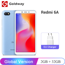 Küresel Sürüm Xiaomi Redmi 6A 6 Bir 2 GB 32 GB Smartphone Helio A22 Quad Core 5.45
