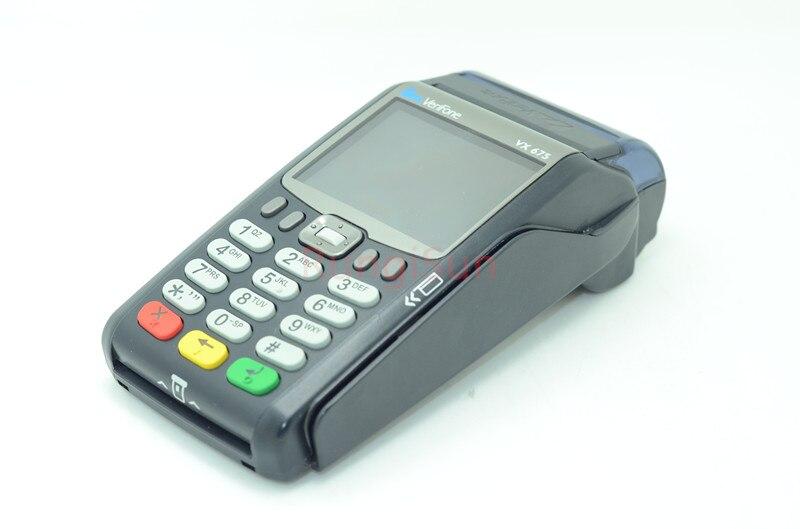Verifone Marque Nouveau Vx675 GPRS CTL 10 pcs/pack Terminaux POS lecteur De carte de Crédit