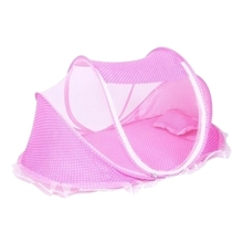 купить 0-3 Years Baby Bed Tent Crib Mattress Portable Foldable Mosquito Net Newborn Bedroom Travel Bed Baby Bed по цене 945.05 рублей