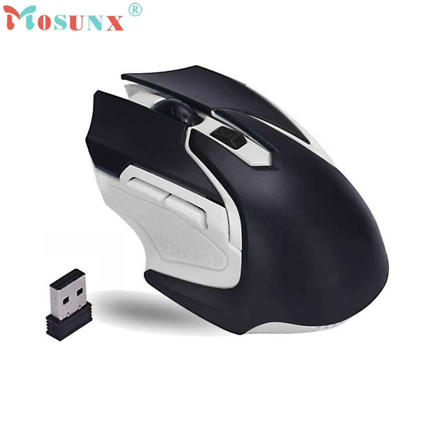 2017 New 2 4GHz Wireless Optical Gaming Mouse Mice For Computer PC Laptop jun16