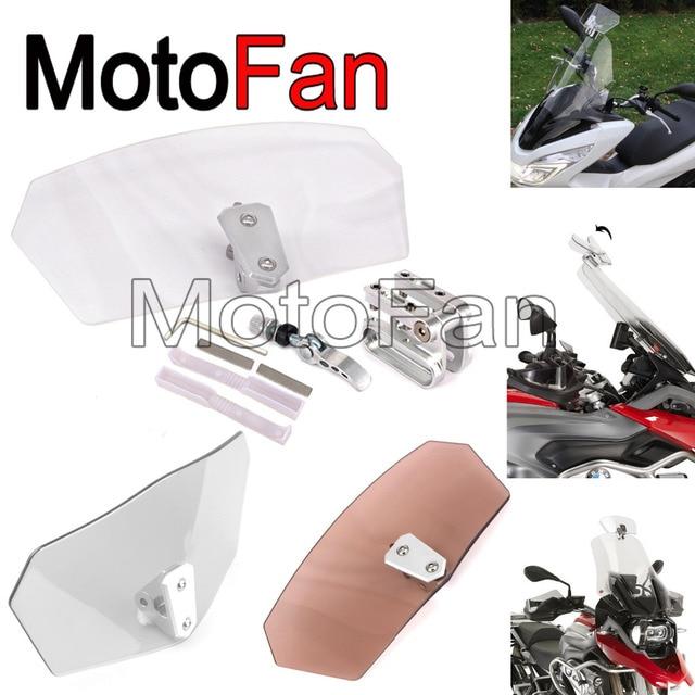 Harley Davidson Windshields >> Universal Motorcycle Windshields Custom Windscreen Extension Wind