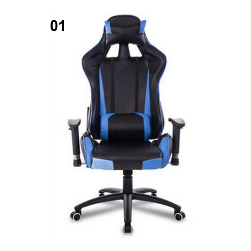 240311/High quality PU leather/Computer Chair/Stereo thicker cushion/Household Office Chair /Steel handrails/ 240335 computer chair household office chair ergonomic chair quality pu wheel 3d thick cushion high breathable mesh