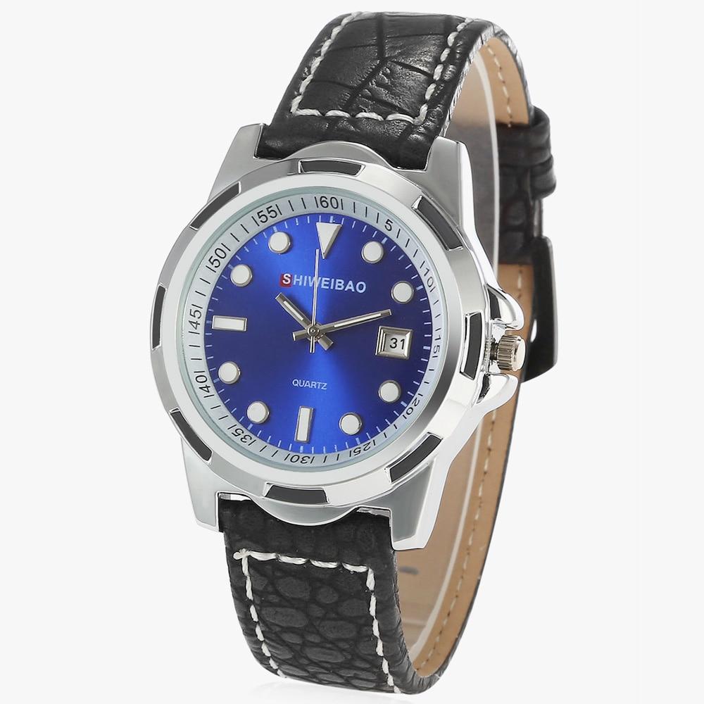 Hot Fashion Quartz Watch Women Black Leather Bracelet Womens Wrist Watches Role Ladies Dress Watches Relogio Feminino Relojes