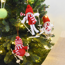nuchi woody skiing santa claus christmas doll christmas tree decoration pendant christmas decorationschina - Woodies Christmas Decorations