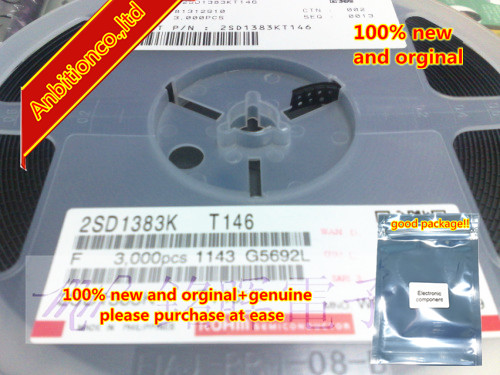 20pcs 100% New And Orginal 2SD1383K Silk-screen WB SOT-23 In Stock