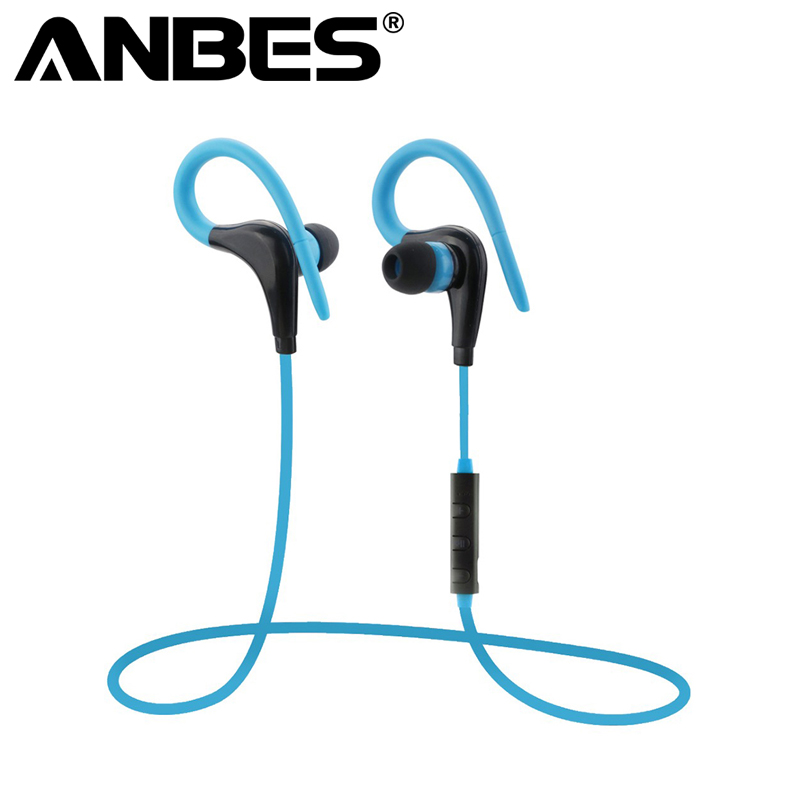 Wireless Headset with Mic Portable Handsfree Bluetooth 4.0 Earphone Sport Running Universal for iPhone Samsung Stereo Headphone