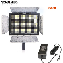 YONGNUO YN600L YN600 Camera Lights LED Video Light 5500K Color Temperature for Canon Nikon + Adapter Power Switching Charger