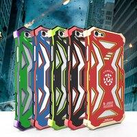 R-po prostu Avengers Superbohaterowie wielka Metalowa Cell Phone Case Dla iPhone 7 i 8 Telefon shell