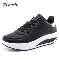 EISWELT New Fashion Women Casual Shoes Sport Shoes Cheap Walking Women S Flats Shoes Breathable Casual