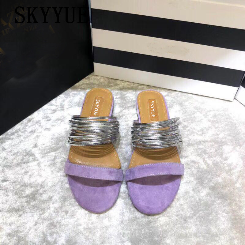 2018 New Brand Genuine Leather Gold Circle Black Women Sandals Summer Sexy Open Toe Low Heel Shoes Women Dress Shoes Elegant vankaring new sandals shoes women cruare strange style low heel open toe summer woman black dress party casual sandals slipper