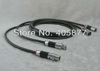 High End Yarbo 3 ядер чистого серебра дирижер соединительный кабель с Carbon XLR штекер кабеля 1 М