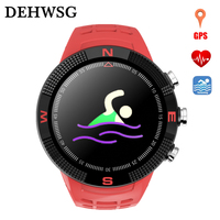 GPS Smart Watch F8 IP68 Waterproof Swimming Watch Heart Rate Monitor Muilt sport Model Wristband relogio invicta For IOS Android
