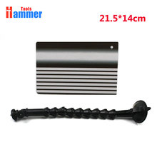 Paintless Dent Removal Repair Tool with Ajustment Holder PDR Stripe Reflector Board цена 2017