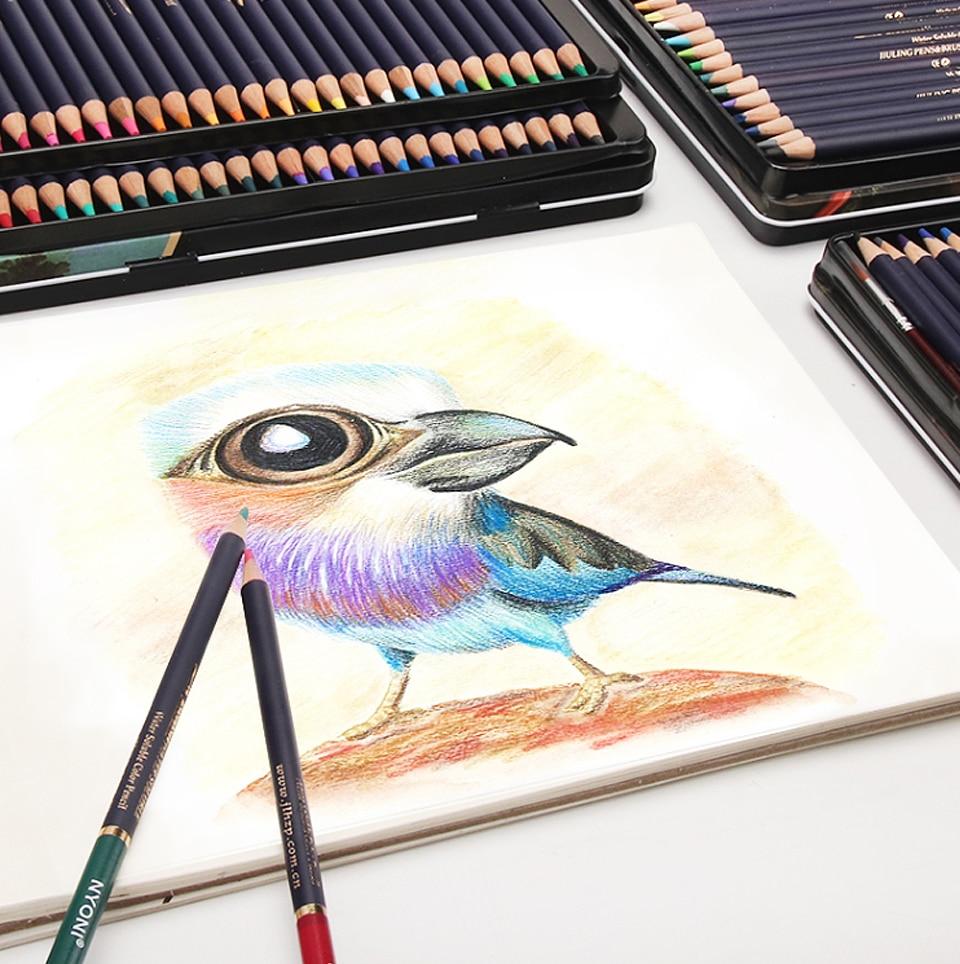Nyoni 364872 Colores Acuarela Lápices De Dibujo Lápices De Colores