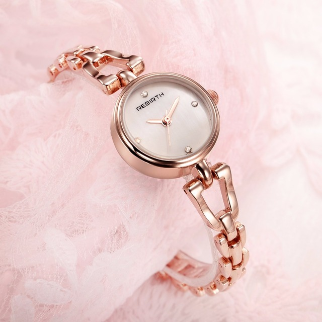 Ladies designer bracelet watches luxury fashion dress watch women 2017 REBIRTH c