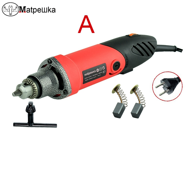 480W Dremel Engraver Accessories Regulating Speed Drill Power Tools Drill lectric Grinder Multi-functional Rotary Tool