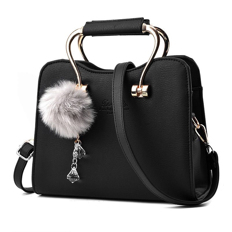 ФОТО Big handbag 2017 new ladies fashion trend PU leather shoulder bag and handbag famous brand ladies ladies messenger bag