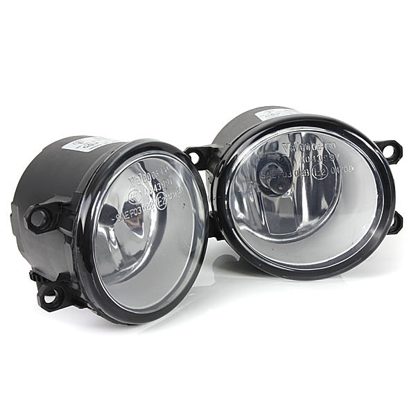 ФОТО 1 Pair 55W Front Bumper Clear Fog Lights Lamps Switch For Toyota Yaris 06-08 2/3 Door Daytime Running Light