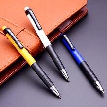 Шариковая ручка deli 6505 шариковая с синими чернилами 07 мм