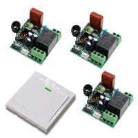High Quality Mini Smart Home AC 220V RF Wireless Remote Control Switch System For Light Lights