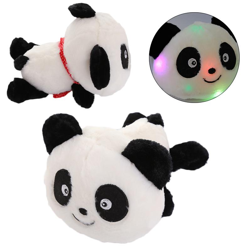 Cute Lovely Glowing Panda Luminous Flashing Plush Doll Stuffed Toys Gift LED Flashing Toys
