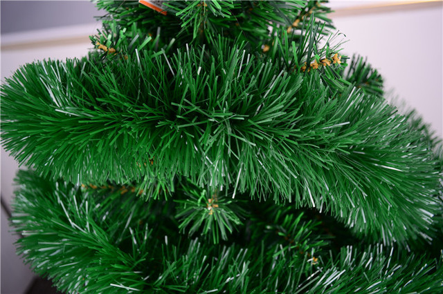 Free Shipping Christmas Tree Decoration 2m Luxury Thick Tinsel Army Green Garland Party
