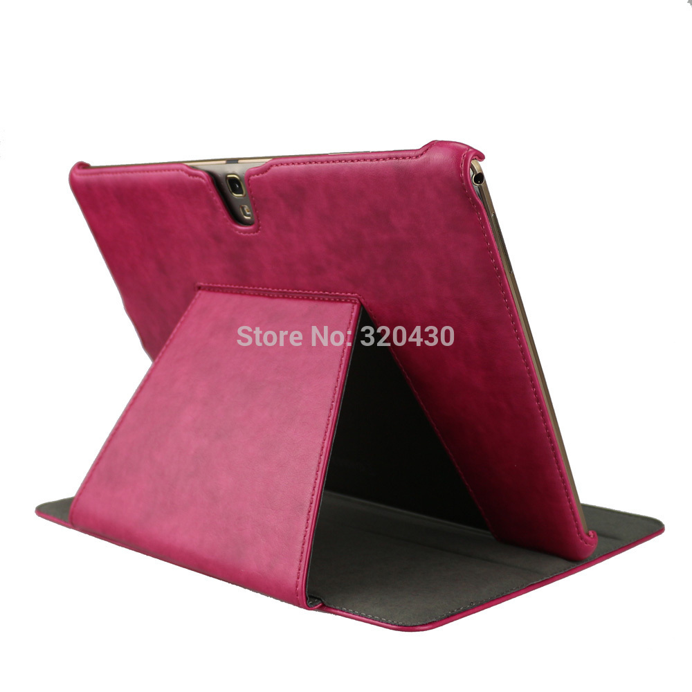 4 color tab S 10.5 T800 T805 smart cover case with multi-angels for Samsung Galaxy tab S 10.5 tablet book case auto sleep&wake