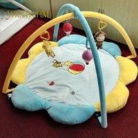 Детские фитнес рамка Dongba детские игрушки 0 1 лет плюшевые игрушки игры одеяло льва Ползания одеяло преимущества