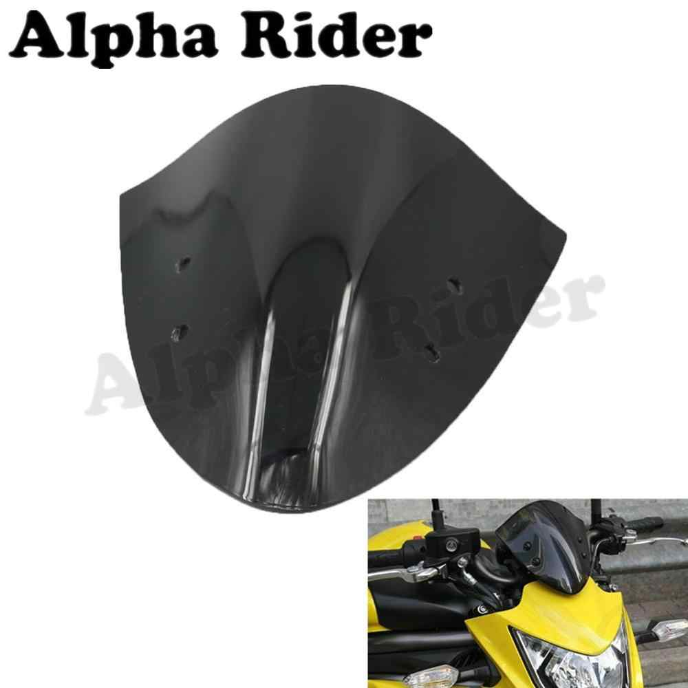 Racers Motorcycle Windshield WindScreen for Kawasaki ER-6N 12-14 ER6N 2012 2013 2014 Airflow Wind Flyscreen Deflector Protection