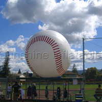 Customize giant inflatable baseball model,inflatable baseball beach ball for advertising